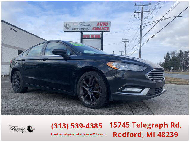 2018 Ford Fusion for sale at The Family Auto Finance in Redford MI