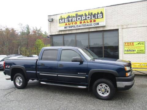 2007 Chevrolet Silverado 2500HD Classic for sale at Metropolis Auto Sales in Pelham NH