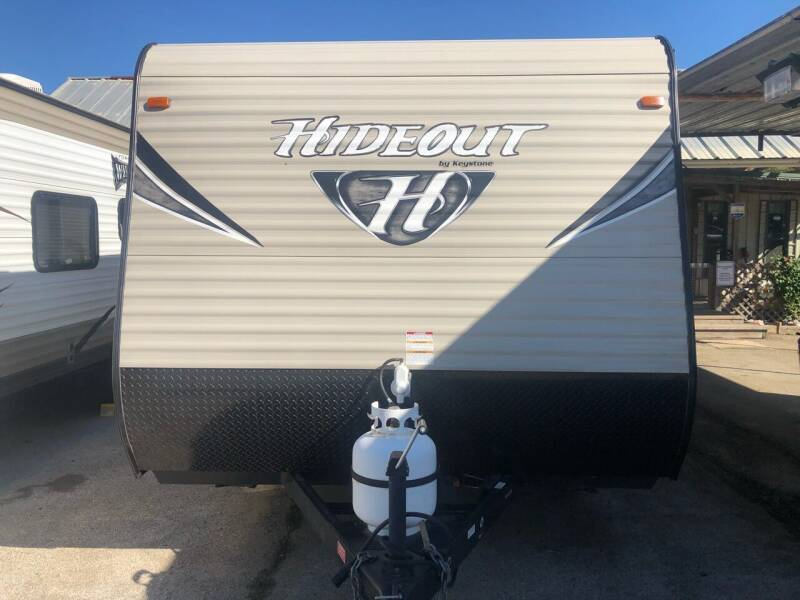 2017 FORRENT/SALE!!!2017Hideout 175LHS for sale at S & R RV Sales & Rentals, LLC in Marshall TX