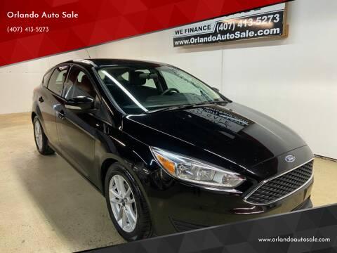 2017 Ford Focus for sale at Orlando Auto Sale in Orlando FL
