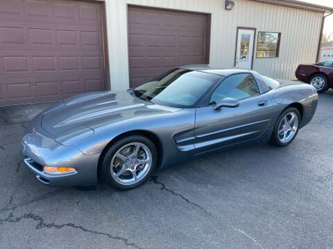 2004 Chevrolet Corvette for sale at Ryans Auto Sales in Muncie IN