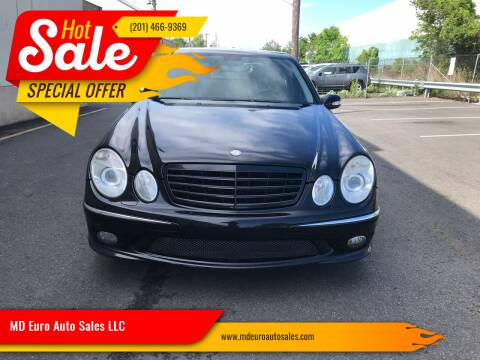 2006 Mercedes-Benz E-Class for sale at MD Euro Auto Sales LLC in Hasbrouck Heights NJ