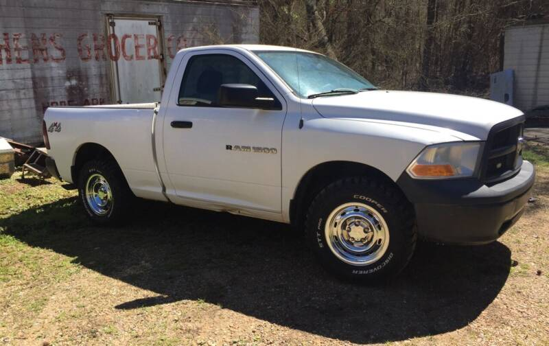 2012 RAM Ram Pickup 1500 for sale at M & W MOTOR COMPANY in Hope AR