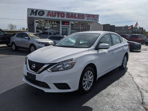 2019 Nissan Sentra for sale at Mo Auto Sales in Fairfield OH