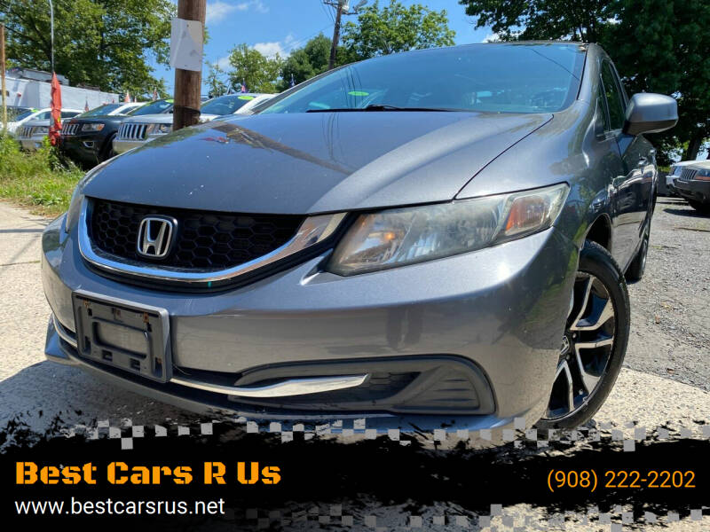2013 Honda Civic for sale at Best Cars R Us in Plainfield NJ