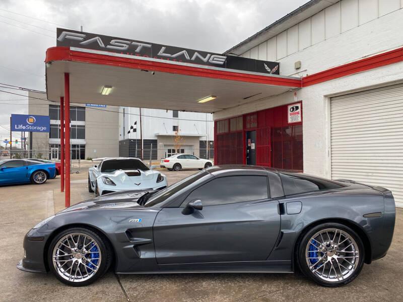 2010 Chevrolet Corvette for sale at FAST LANE AUTO SALES in San Antonio TX