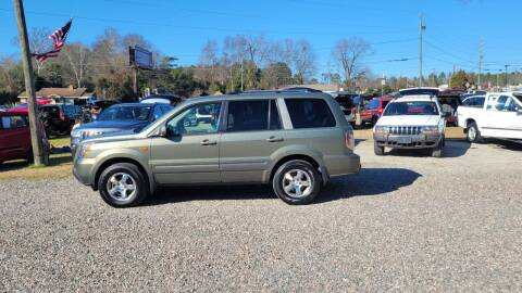 2008 Honda Pilot for sale at Joye & Company INC, in Augusta GA