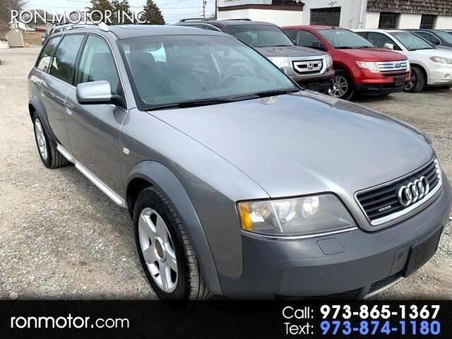 2004 Audi Allroad for sale at Ron Motor Inc. in Wantage NJ