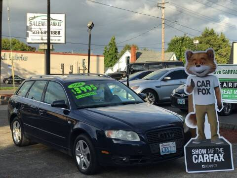 2006 Audi A4 for sale at Salem Auto Market in Salem OR