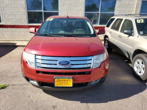 2008 Ford Edge for sale at Brothers Used Cars Inc in Sioux City IA