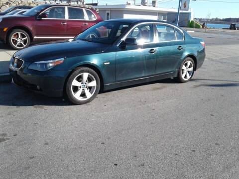 2006 BMW 5 Series for sale at Nelsons Auto Specialists in New Bedford MA