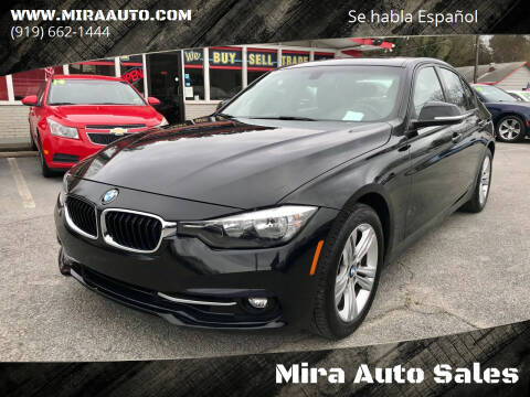2016 BMW 3 Series for sale at Mira Auto Sales in Raleigh NC