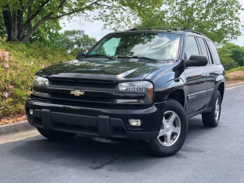 2004 Chevrolet TrailBlazer for sale at William D Auto Sales in Norcross GA