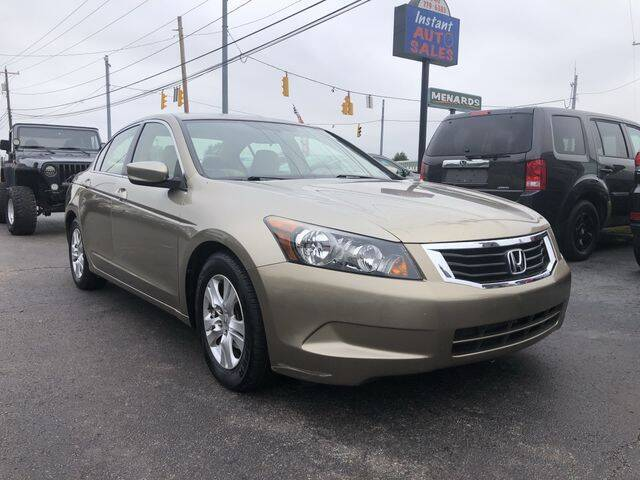 2008 Honda Accord for sale at Instant Auto Sales in Chillicothe OH