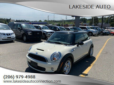 2008 MINI Cooper for sale at Lakeside Auto in Lynnwood WA