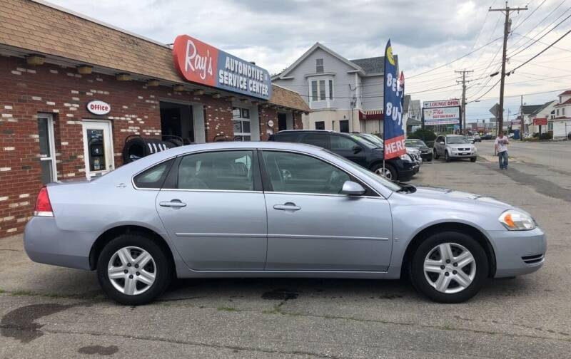 2006 Chevrolet Impala for sale at RAYS AUTOMOTIVE SERVICE CENTER INC in Lowell MA