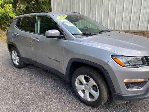 2018 Jeep Compass for sale at WHARTON'S AUTO SVC & USED CARS in Wheeling WV