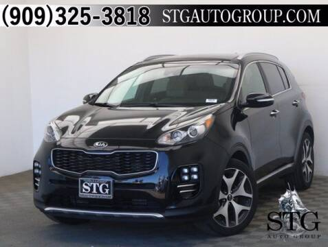 2017 Kia Sportage for sale at STG Auto Group in Montclair CA