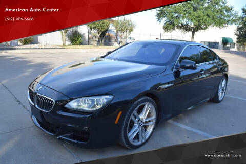 2013 BMW 6 Series for sale at American Auto Center in Austin TX