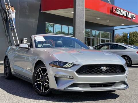 2018 Ford Mustang for sale at Gravity Autos Roswell in Roswell GA