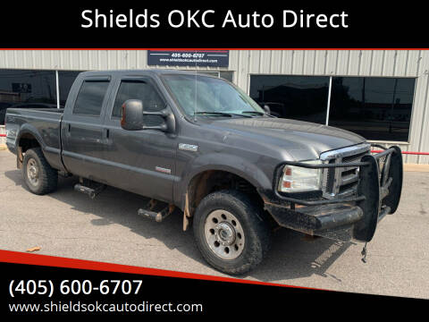 2005 Ford F-250 Super Duty for sale at Shields OKC Auto Direct in Oklahoma City OK
