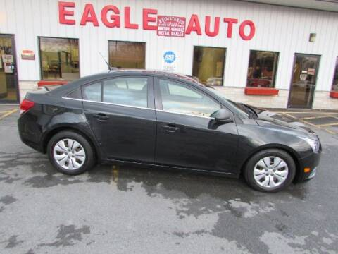 2012 Chevrolet Cruze for sale at Eagle Auto Center in Seneca Falls NY