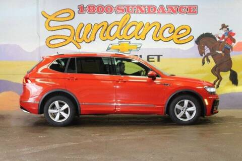 2018 Volkswagen Tiguan for sale at Sundance Chevrolet in Grand Ledge MI
