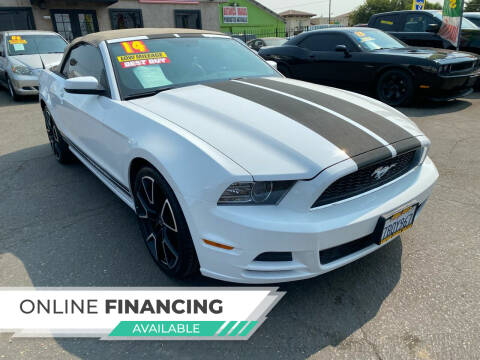 2014 Ford Mustang for sale at Super Cars Sales Inc #1 in Oakdale CA