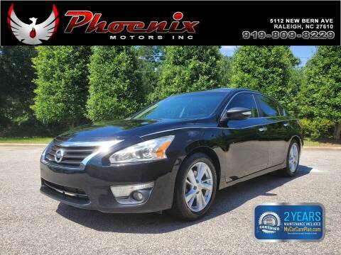 2015 Nissan Altima for sale at Phoenix Motors Inc in Raleigh NC