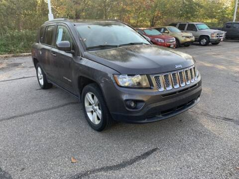 2017 Jeep Compass for sale at Ganley Chevy of Aurora in Aurora OH