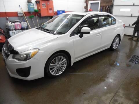2012 Subaru Impreza for sale at East Barre Auto Sales, LLC in East Barre VT