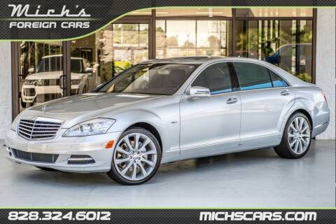 2012 Mercedes-Benz S-Class for sale at Mich's Foreign Cars in Hickory NC