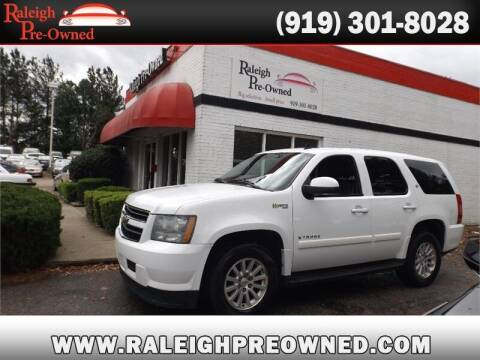 2009 Chevrolet Tahoe for sale at Raleigh Pre-Owned in Raleigh NC