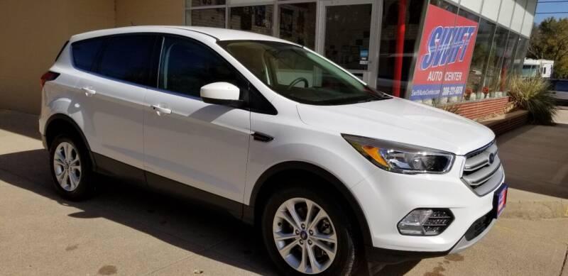 2019 Ford Escape for sale at Swift Auto Center of North Platte in North Platte NE