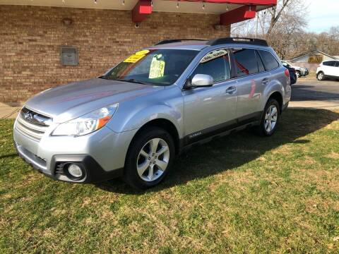 2014 Subaru Outback for sale at Murdock Used Cars in Niles MI