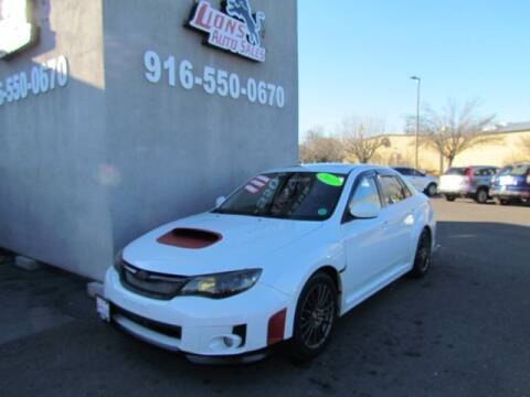 2011 Subaru Impreza for sale at LIONS AUTO SALES in Sacramento CA