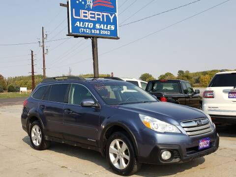 2014 Subaru Outback for sale at Liberty Auto Sales in Merrill IA