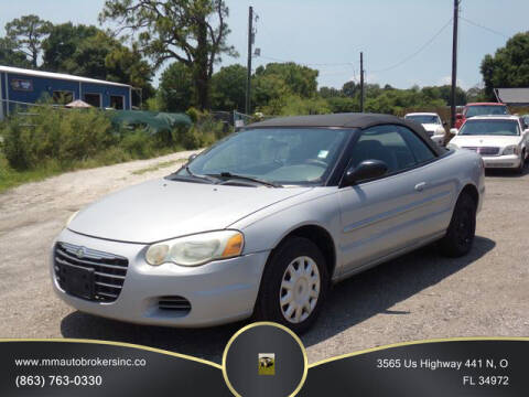 2006 Chrysler Sebring for sale at M & M AUTO BROKERS INC in Okeechobee FL