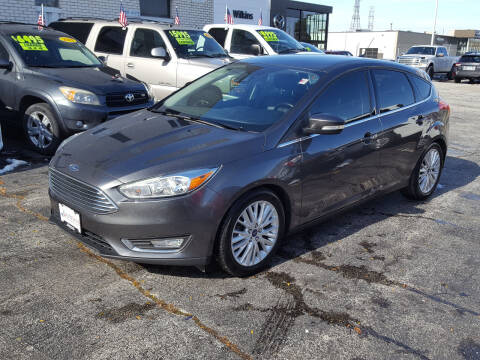 2015 Ford Focus for sale at AUTOSAVIN in Elmhurst IL