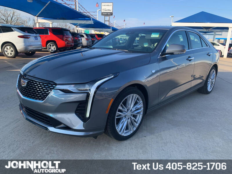 2021 Cadillac CT4 for sale at JOHN HOLT AUTO GROUP, INC. in Chickasha OK