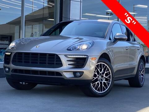 2015 Porsche Macan for sale at Carmel Motors in Indianapolis IN