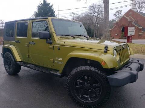 2007 Jeep Wrangler Unlimited for sale at McAdenville Motors in Gastonia NC