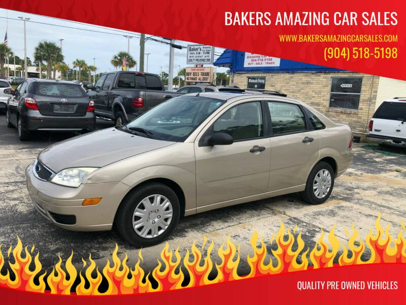 2006 Ford Focus for sale at Bakers Amazing Car Sales in Jacksonville FL