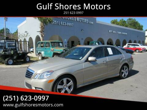 2010 Mercedes-Benz E-Class for sale at Gulf Shores Motors in Gulf Shores AL