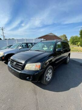 2005 Toyota Highlander for sale at First Class Autos in Maiden NC