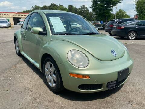 2007 Volkswagen New Beetle for sale at Atlantic Auto Sales in Garner NC