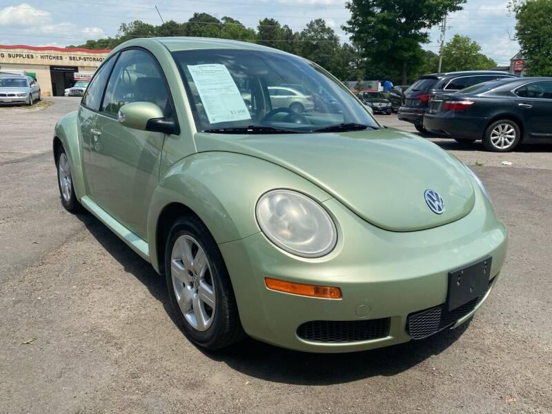 2007 Volkswagen New Beetle for sale at Atlantic Auto Sales in Garner NC