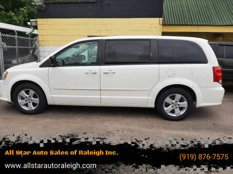 2013 Dodge Grand Caravan for sale at All Star Auto Sales of Raleigh Inc. in Raleigh NC