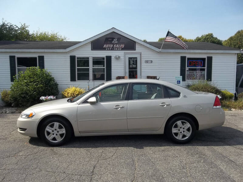 2008 Chevrolet Impala for sale at R & L AUTO SALES in Mattawan MI