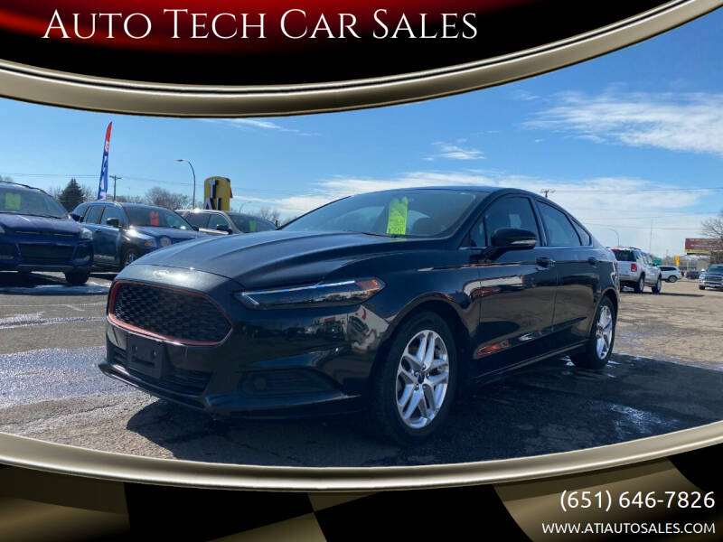2013 Ford Fusion for sale at Auto Tech Car Sales in Saint Paul MN